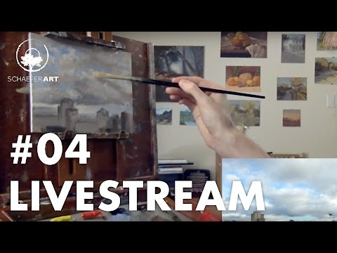 2 Cloud Studies + Sunset - Live-Stream #04