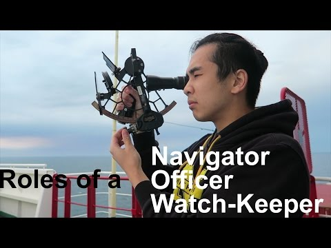 What is a WatchKeeper? Deck Officer? | THICK FOG!!! | Life a
