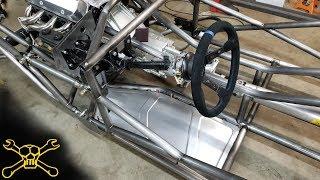 Custom Bead Rolled Floor Panels | Bibbster Build