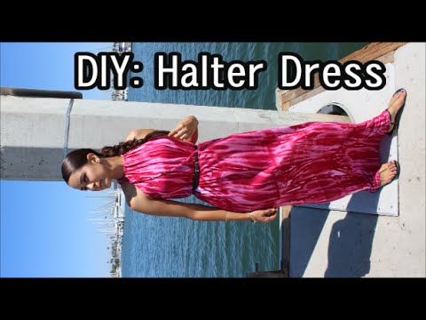 DIY Maxi Dress Maxi dresses for spring are easy with the