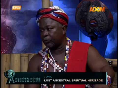 Lost Ancestral Spiritual Heritage - Asumasem on Adom TV (10-9-18)
