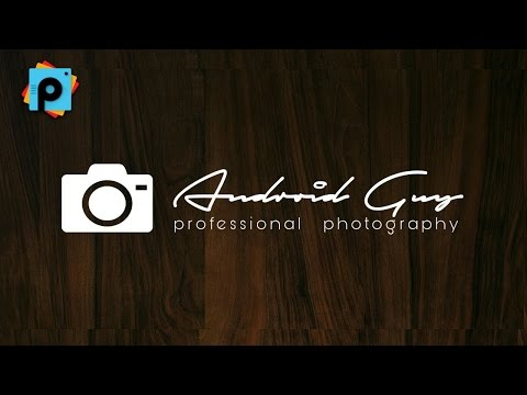 How To Design A Photographer Logo On Android