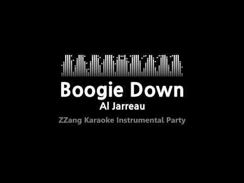 Al Jarreau-Boogie Down (Instrumental) [ZZang KARAOKE]