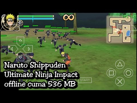 Cara Download Naruto Shippuden Ultimate Ninja Impact PPSSPP + Setting No Lag