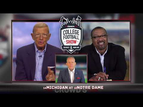 Lou Holtz & Mark May - Michigan at Notre Dame // Sat, Sept, 1, 2018