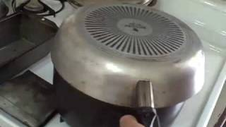 Baking Bread  on a  Gas Stovetop