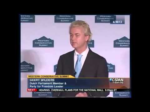Geert Wilders 'Standing-Ovation' Address to American Conservatives 3/4