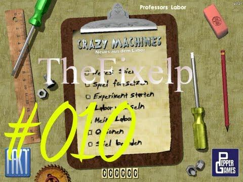 Let's Play Crazy Machines Gold Edition[Semi-Blind]: Neues aus dem Labor #010  