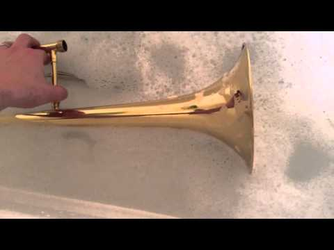 Giving Your Trombone A Bath