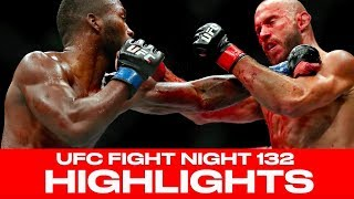 UFC Fight Night 132 Highlights! Leon Edwards, Ovince Saint Preux Win Big In Singapore