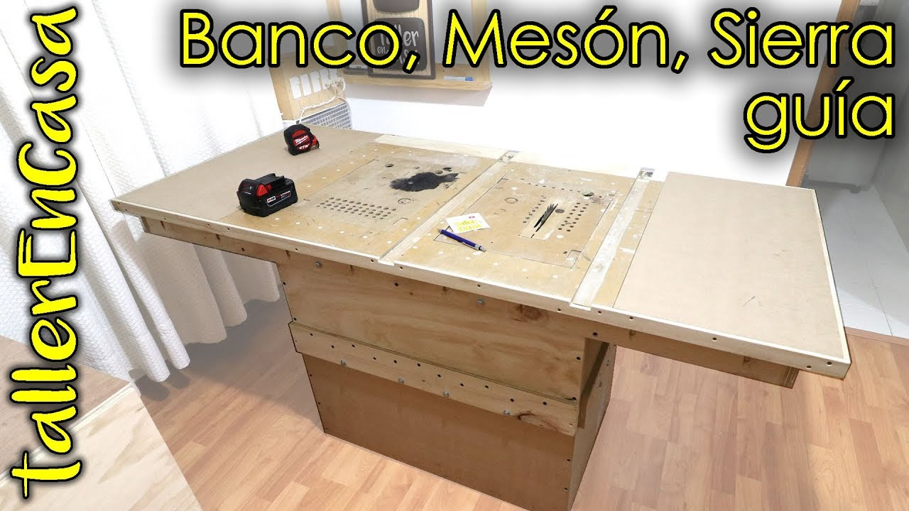 Mesa de carpintero multifuncional doovi for Mesa de carpintero