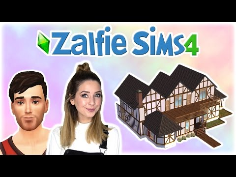 Creating Alfies House | Zalfie Sims Edition [2]