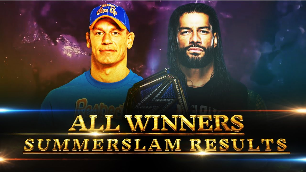 WWE Summerslam 2021 All Matches & Results Predictions MatchCard 5 HD