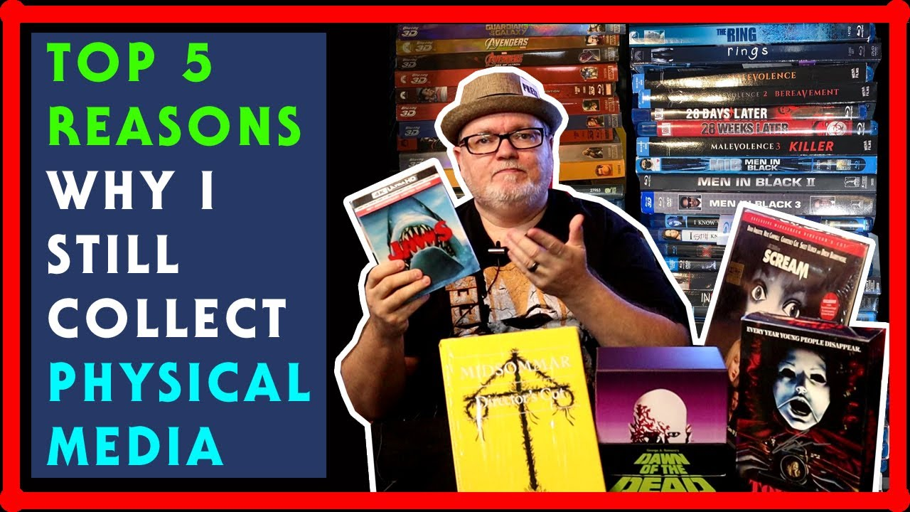 Download TOP 5 Reasons Why I Still Collect Physical Media - DVD, Blu Ray, 4K