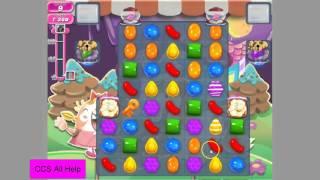 Candy Crush Saga Level 1351 Keys fall on moves 21, 16, 11 & 6.
