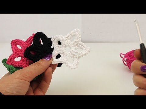 Crochet Home Decor – DIY Stars for Christmas – Decorative Items – How to crochet for beginners