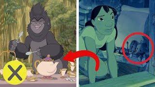 20 Personajes de Disney escondidos en otras películas