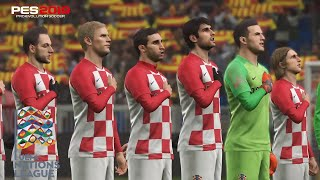 PES 2019 |  CROACIA vs ESPAÑA | UEFA NATIONS LEAGUE | Gameplay