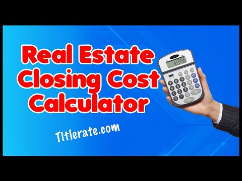 TitleRate.com | Real Estate Closing Cost Calculator | Real Estate Agent | Real Estate Investor