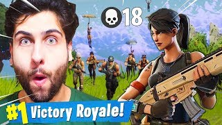 CHALLENGE WITHOUT SKIN! THEY THOUGHT I WAS NOOB! VICTORY SOLO Fortnite Battle Royale