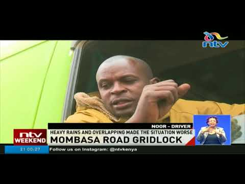 The monster traffic on Mombasa road is now on the second day