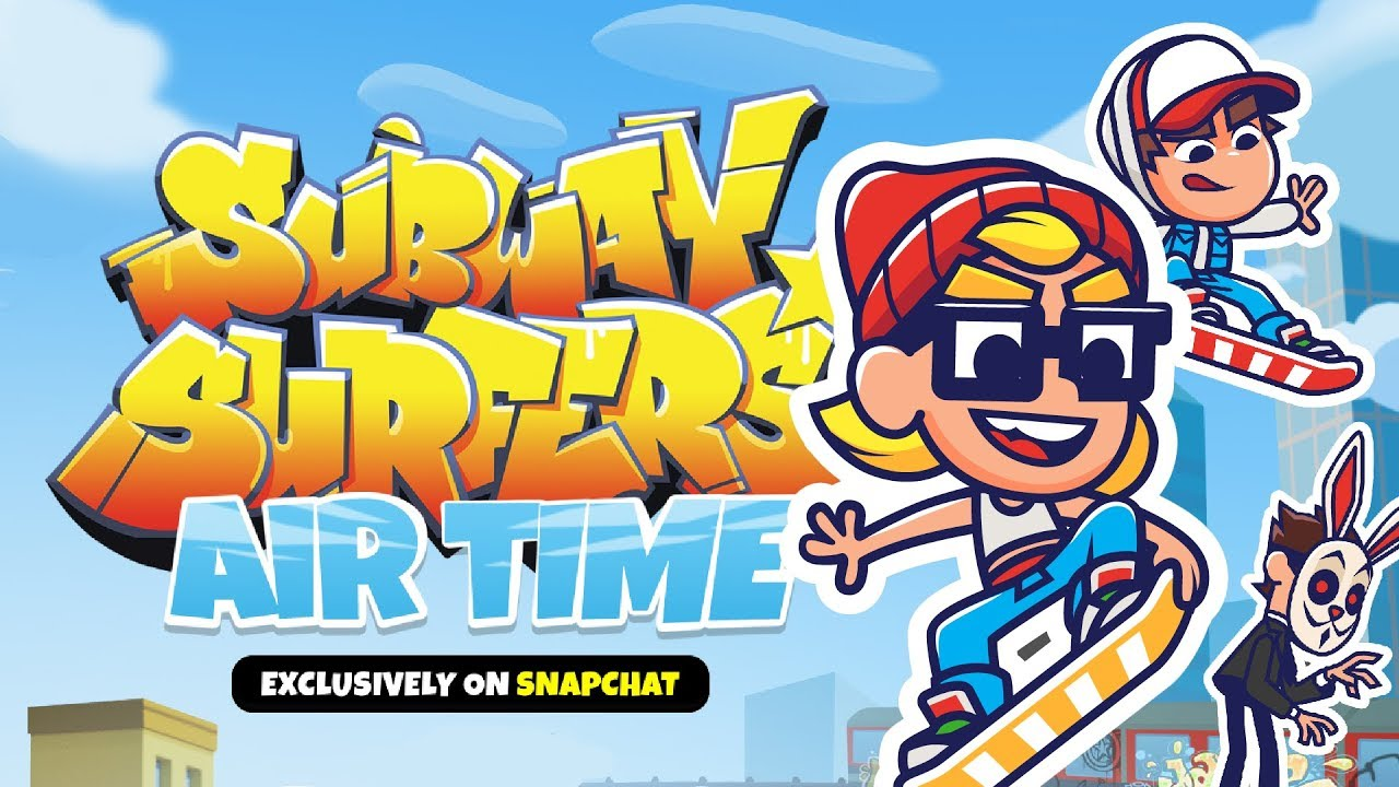 Download Subway Surfers Airtime | Launch Trailer | Coming soon on Snapchat!