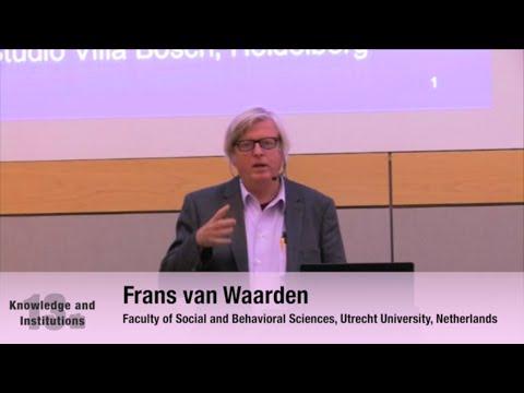 """Frans van Waarden: """"Path dependent institutional Development"""""""
