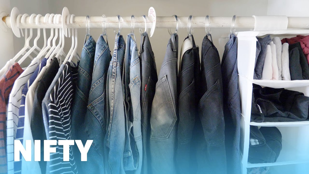 7 Easy Closet Organization Hacks Youtube