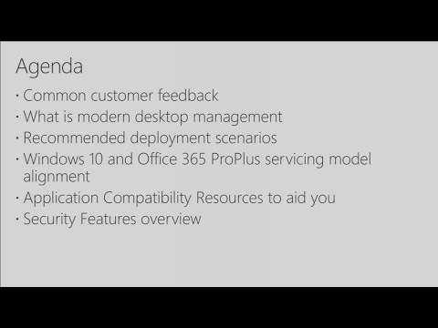 Architect a modern and secure desktop for your organization - BRK2043
