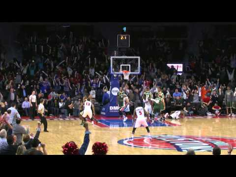 Andre Drummond Tips In The Game Winner!