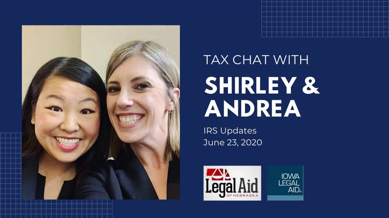 Tax Chat 6 23 20 IRS Updates - YouTube