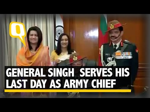 The Quint: New Army Chief Bipin Rawat Takes Over as Gen Dalbir Singh Retires