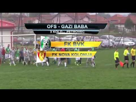 FK BVK 6:0 FK Nova Kolonija (3 Kolo) 18/10/2015