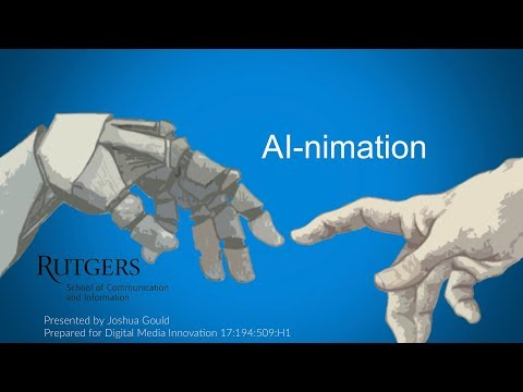 AI-nimation – Innovations in Computational Creativity.