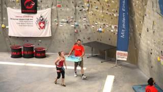 Mammut Youth Climbing Cup & Schweizermeisterschaft Lead Lenzburg 2015