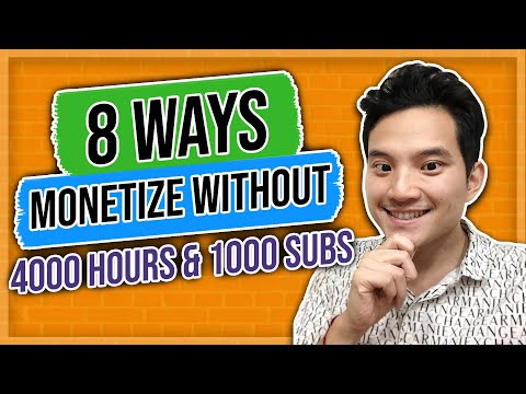 How To Monetize Youtube Videos Without 4000 Hours And 1000 Subscribers 2019 That NO ONE Teaches You!