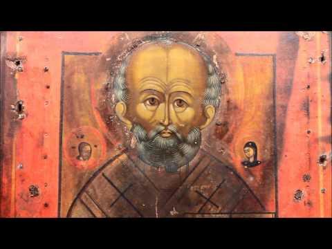 Купить старую икону Николая Чудотворца? Икона старинная Николай Чудотворец. DR0357