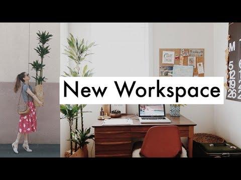 Flea Market VLOG & New Workspace Update
