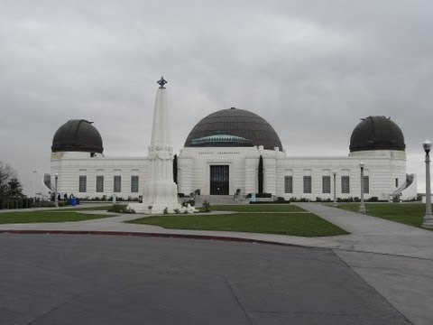 Griffith Park Observatory Video Planetarium Griffith's Mount Hollywood Sign Views & Review