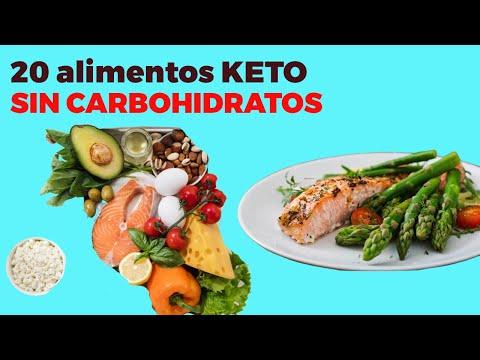 20 alimentos KETO SIN CARBOHIDRATOS sin azcar para la dieta cetognica
