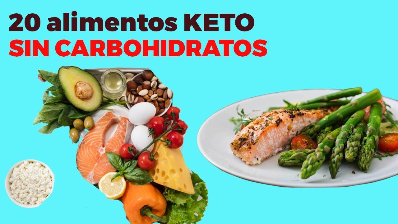 20 Alimentos Keto Sin Carbohidratos Sin Azúcar Para La Dieta Cetogénica Youtube