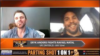 EXCLUSIVE: NCAA football champ Eryk Anders talks UFC debut July 22nd against Rafael Natal