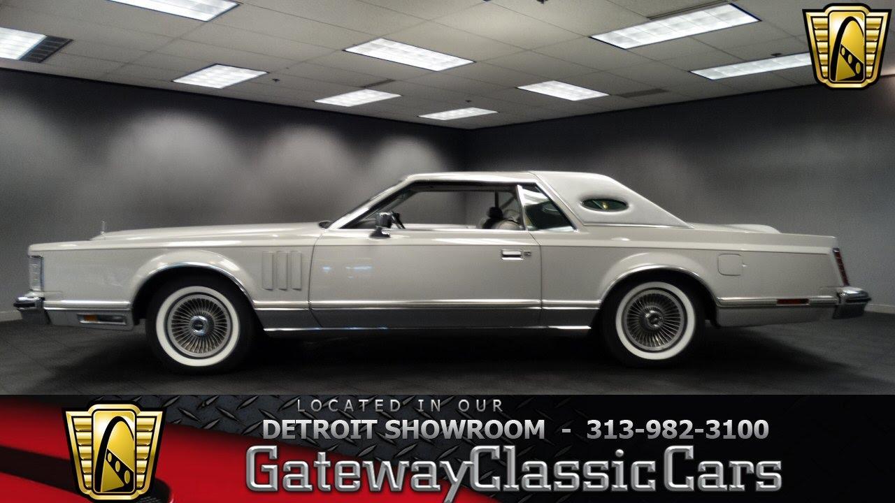 1977 Lincoln Mark V - YouTube