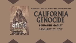 Video UCLA's Dr. Benjamin Madley, An American Genocide download MP3, 3GP, MP4, WEBM, AVI, FLV Maret 2018
