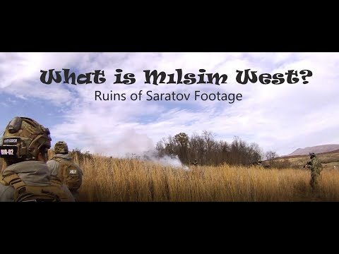 What is Milsim West? Plus Ruins of Saratov Game Play Footage