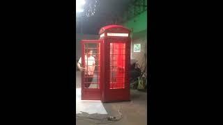 английская телефонная будка с шумоизоляцией