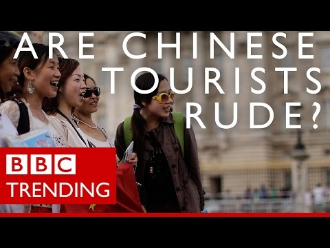 Do Chinese tourists deserve their 'rude' reputation? - BBC T