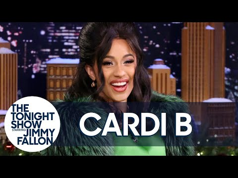 Download Youtube: Jimmy Interviews Cardi B