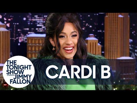 Jimmy Interviews Cardi B
