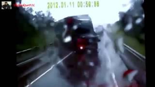 Подборка страшных ДТП с фурами на видеорегистратор